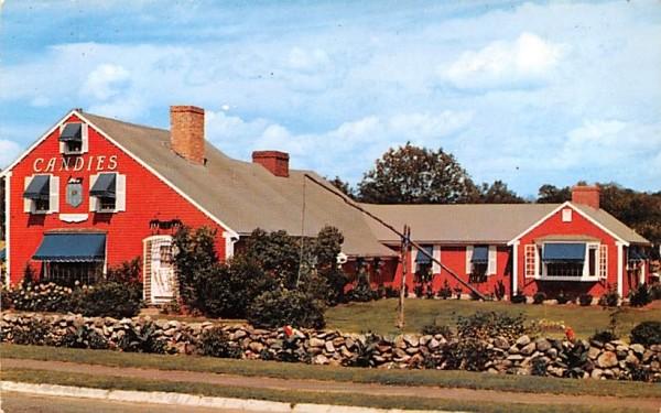 Home of Putnam Pantry's Danvers, Massachusetts Postcard
