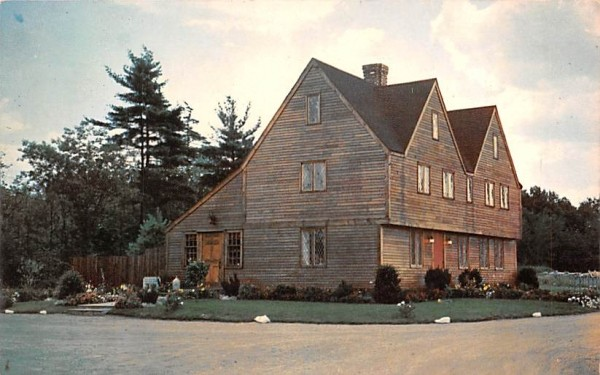 The Old Salem House Candies Danvers, Massachusetts Postcard