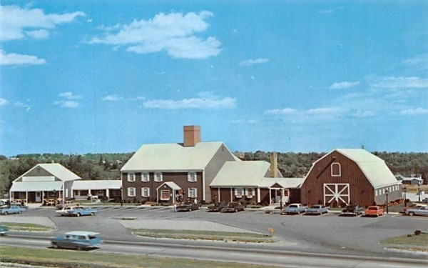 The Village Green Danvers, Massachusetts Postcard