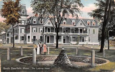 The Lathrop Hotel Deerfield, Massachusetts Postcard