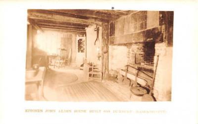 Kitchen Duxbury, Massachusetts Postcard