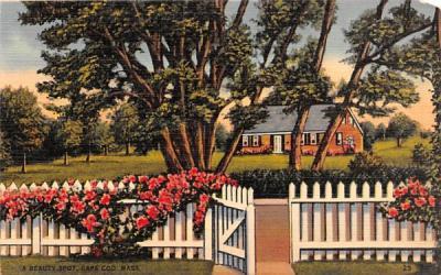 A Beauty Spot Dennis, Massachusetts Postcard