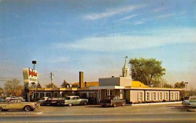 Mary Hartigan's Famous Restaurant Dedham, Massachusetts Postcard