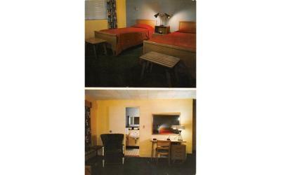 Coronet Motel Danvers, Massachusetts Postcard