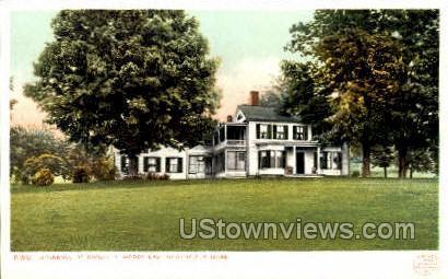 Residence of Dwight L. Moody - East Northfield, Massachusetts MA Postcard