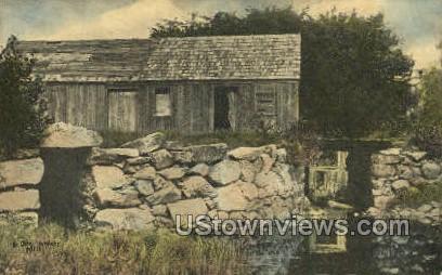 Ye Olde Howlett Mill - Misc, Massachusetts MA Postcard