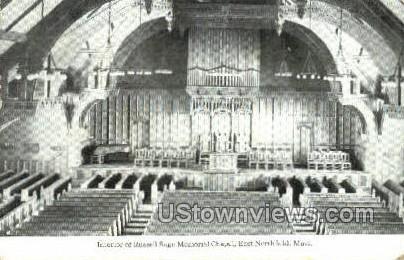 Russell Sage Memorial Chapel - East Northfield, Massachusetts MA Postcard