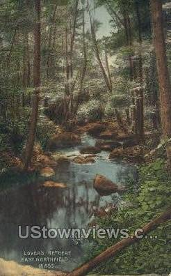 Lover's Retreat - East Northfield, Massachusetts MA Postcard