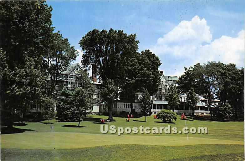 The Northfield Hotel - East Northfield, Massachusetts MA Postcard