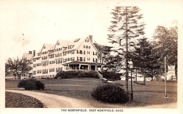 The Northfield East Nortfield, Massachusetts Postcard