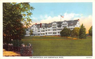 The Northfield  East Northfield, Massachusetts Postcard