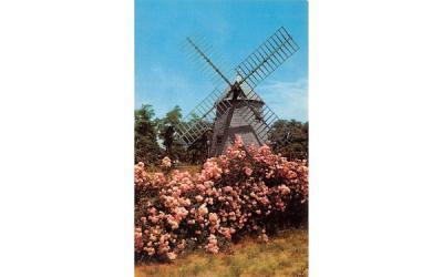 The Oldest Windmill on Cape Cod Eastham, Massachusetts Postcard
