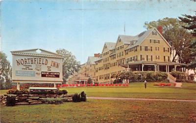 The Northfield Inn East Northfield, Massachusetts Postcard