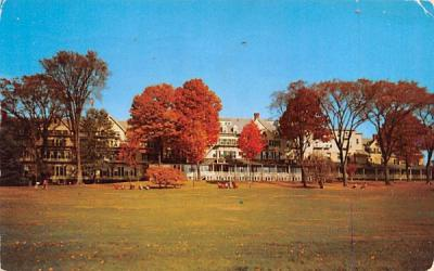 The Northfield Hotel East Northfield, Massachusetts Postcard