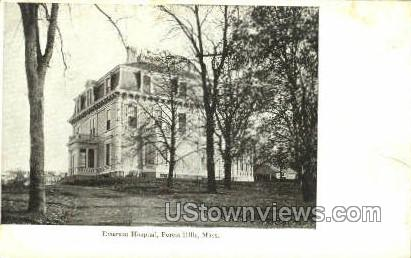 Emerson Hospital - Forest Hills, Massachusetts MA Postcard