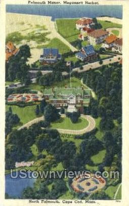 Falmouth Manor, North Falmouth - Cape Cod, Massachusetts MA Postcard