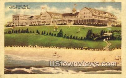 Cape Codder Hotel - Falmouth, Massachusetts MA Postcard