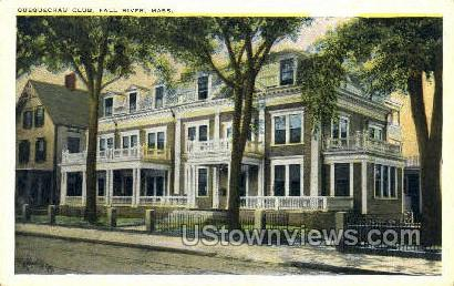 Quequechau Club - Fall River, Massachusetts MA Postcard