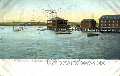Fall River Yacht Club - Massachusetts MA Postcard