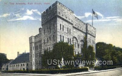 The Armory - Fall River, Massachusetts MA Postcard