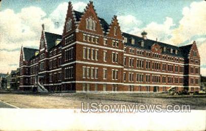 St. Anne's Hospital - Fall River, Massachusetts MA Postcard