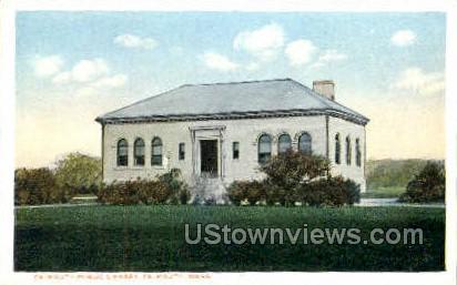 Falmouth Public Library - Massachusetts MA Postcard