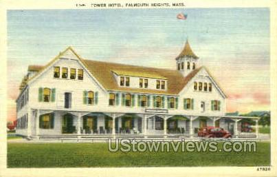 Tower Hotel - Falmouth, Massachusetts MA Postcard