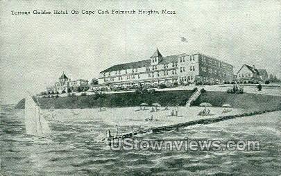 Terrace Gables Hotel - Falmouth, Massachusetts MA Postcard