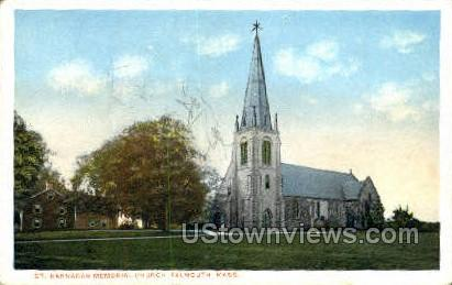 St. Barnabas Memorial Church - Falmouth, Massachusetts MA Postcard