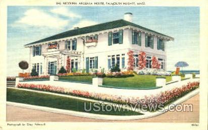 The Nicolina Argenta House - Falmouth, Massachusetts MA Postcard