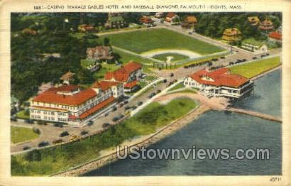 Casino, Terrace Gables Hotel  - Falmouth, Massachusetts MA Postcard
