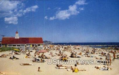Falmouth Town Beach - Massachusetts MA Postcard