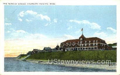 The Terrace Gables - Falmouth, Massachusetts MA Postcard