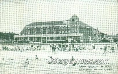 Park Beach Hotel - Falmouth, Massachusetts MA Postcard