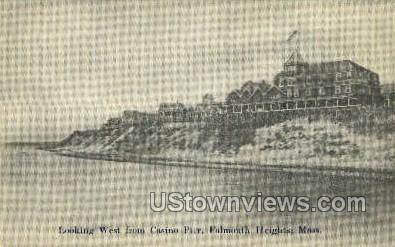 Casino Pier - Falmouth, Massachusetts MA Postcard