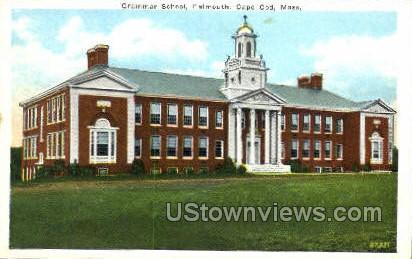 Grammar School - Falmouth, Massachusetts MA Postcard