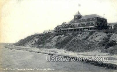The Bluff & Terrace Gables - Falmouth, Massachusetts MA Postcard