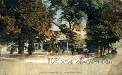 Locust Lodge Hotel - Falmouth, Massachusetts MA Postcard