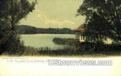 Shiverick's Pond - Falmouth, Massachusetts MA Postcard
