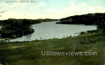 Oyster Pond - Falmouth, Massachusetts MA Postcard