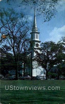 Congregational Church - Falmouth, Massachusetts MA Postcard