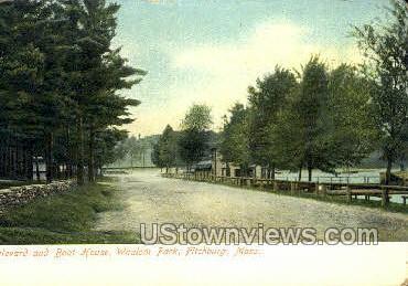 Whalom Park - Fitchburg, Massachusetts MA Postcard