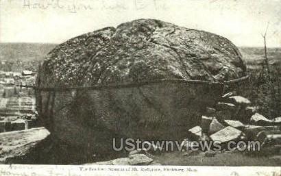 Summet of Mt Rollstone - Fitchburg, Massachusetts MA Postcard