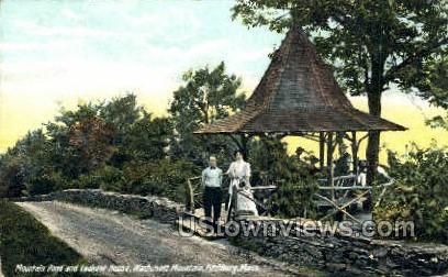 Wachusett Mountain - Fitchburg, Massachusetts MA Postcard