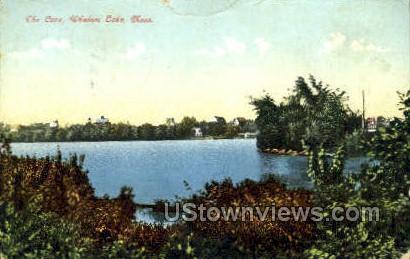 The Cove, Whalom Lake - Fitchburg, Massachusetts MA Postcard