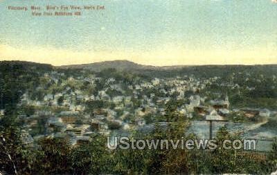 Fitchburg, Massachusetts, MA Postcard