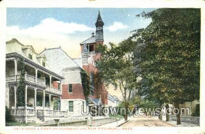 First Universalist Church - Fitchburg, Massachusetts MA Postcard