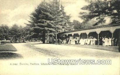 Dancing Pavilion, Whalom Park - Fitchburg, Massachusetts MA Postcard