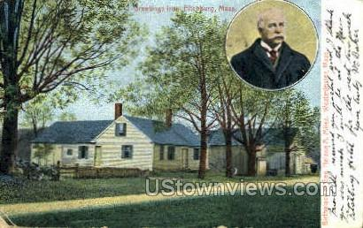 Birthplace of Gen. Nelson A Miles - Westminster, Massachusetts MA Postcard
