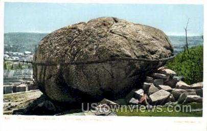 Summit of Mt Rollstone - Fitchburg, Massachusetts MA Postcard